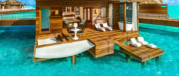 9 Overwater Bungalows Open At Sandals Grande St Lucian: Sandals Overwater Bungalows Open In St Lucia May 2017